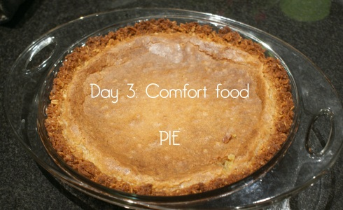 Day 3: Comfort food